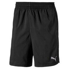 Puma Mens Woven Shorts Black M, Black, rebel_hi-res