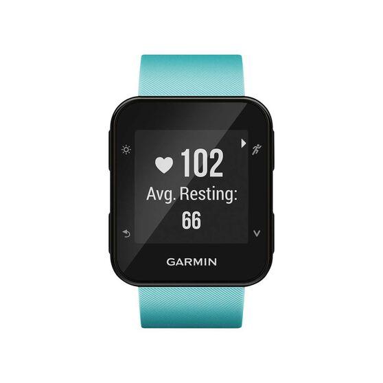 Garmin Forerunner 35 GPS Heart Rate Monitor Running Watch Frost Blue, , rebel_hi-res