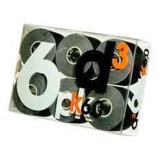 D3 KTape 6 Pack Black, , rebel_hi-res