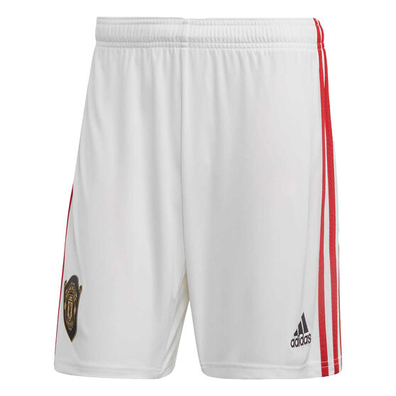 Manchester United 2019/20 Mens Home Shorts, Red, rebel_hi-res