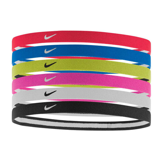 Nike Swoosh Sports Headband 6 Pack, , rebel_hi-res