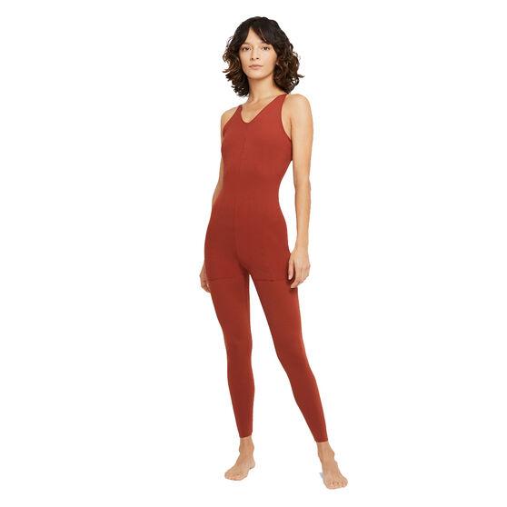 Nike Womens Yoga Luxe 7/8 Jumpsuit, , rebel_hi-res