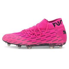 Puma Future 6.1 Netfit Football Boots Pink US Mens 7 / Womens 8.5, Pink, rebel_hi-res