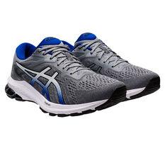 Asics GT 1000 10 2E Mens Running Shoes, Grey/Blue, rebel_hi-res