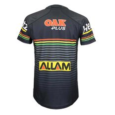 Penrith Panthers 2019  Youth Home Jersey Black 8, Black, rebel_hi-res