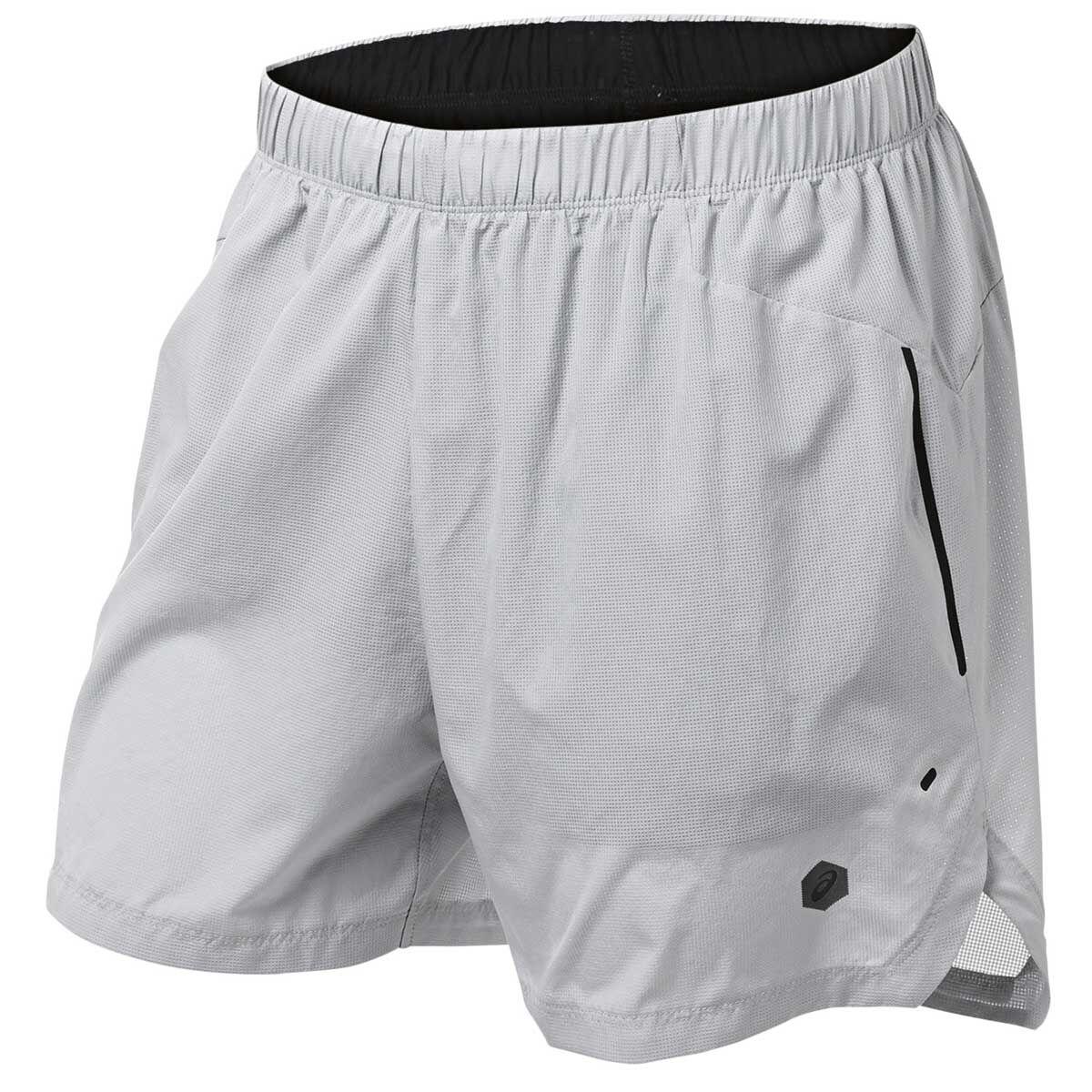 asics mens 2 in 1 shorts