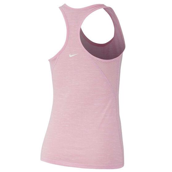 Nike Womens Dri FIT Legend Tank, Pink, rebel_hi-res