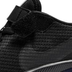 Nike Air Zoom Arcadia Kids Running Shoes Black US 11, Black, rebel_hi-res