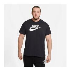 Nike Mens Sportswear Tee Black S, Black, rebel_hi-res