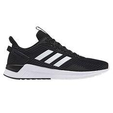 adidas Questar Ride Mens Running Shoes Black / White US 7, Black / White, rebel_hi-res