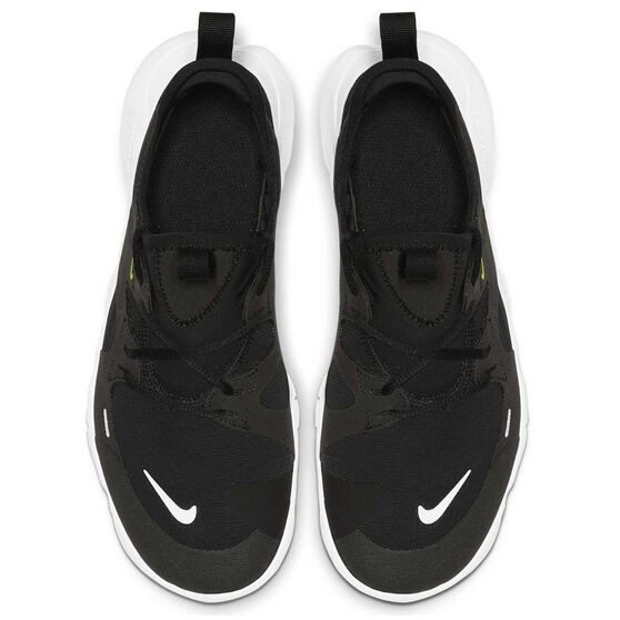 Nike Free RN 5.0 Kids Running Shoes Black / White 4, Black / White, rebel_hi-res