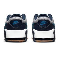 Nike Air Max Excee Kids Casual Shoes, Grey/Blue, rebel_hi-res