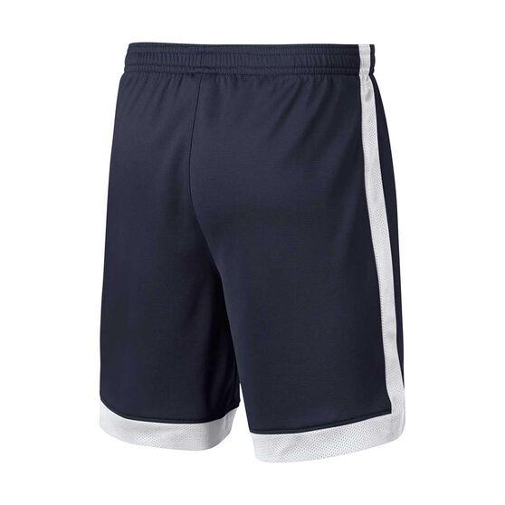 Nike Dri-FIT Boys Academy Football Shorts, Navy / White, rebel_hi-res