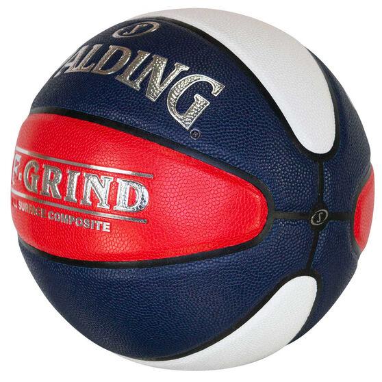 Spalding  TF Grind Basketball Australia Basketball, White / Red, rebel_hi-res