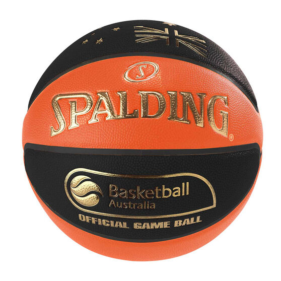 Spalding TF-1000 Legacy Basketball Australia Basketball, Orange / Black, rebel_hi-res