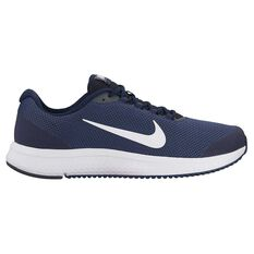 Nike Run All Day Mens Running Shoes White US 7, White, rebel_hi-res