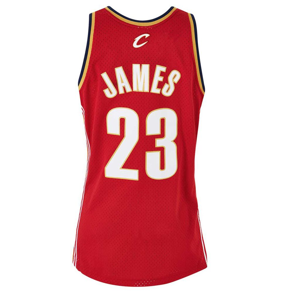cheap for discount 23c35 3eb6b Cleveland Cavaliers LeBron James Mens Road Swingman Jersey S