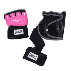 Everlast EverGel Hand Wraps Pink S / M, Pink, rebel_hi-res