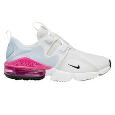 Nike Air Max Infinity Womens Casual Shoes White/Black US 5, White/Black, rebel_hi-res
