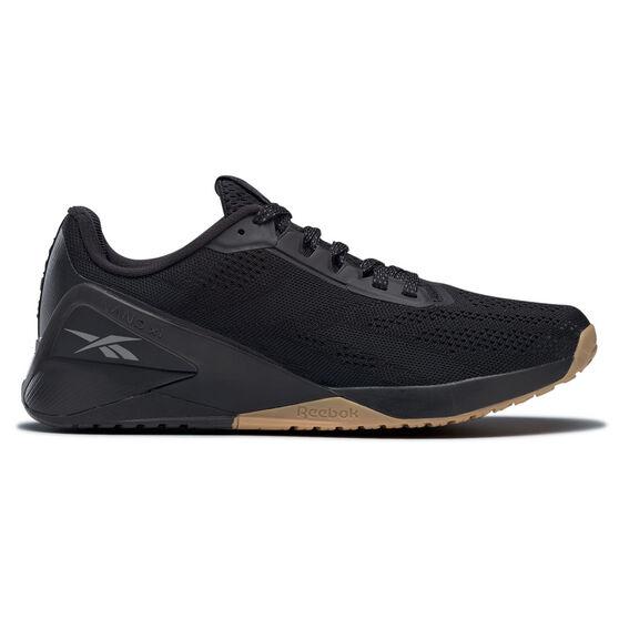 Reebok Nano X1 Mens Training Shoes, Black, rebel_hi-res