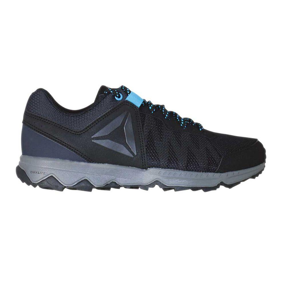 554a2385eae8be Reebok DMX Lite Katak Womens Walking Shoes Black   Blue US 6