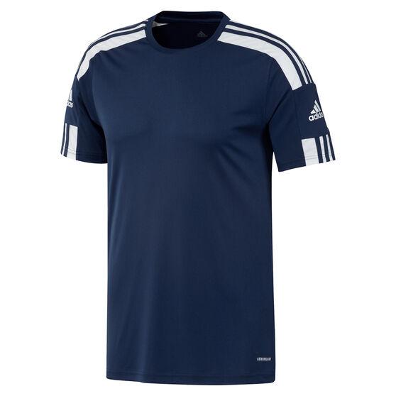 Adidas Mens Squadra 21 Jersey, Navy, rebel_hi-res