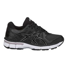 Asics Gel 800XTR Kids Cross Training Shoes Black US 1, Black, rebel_hi-res