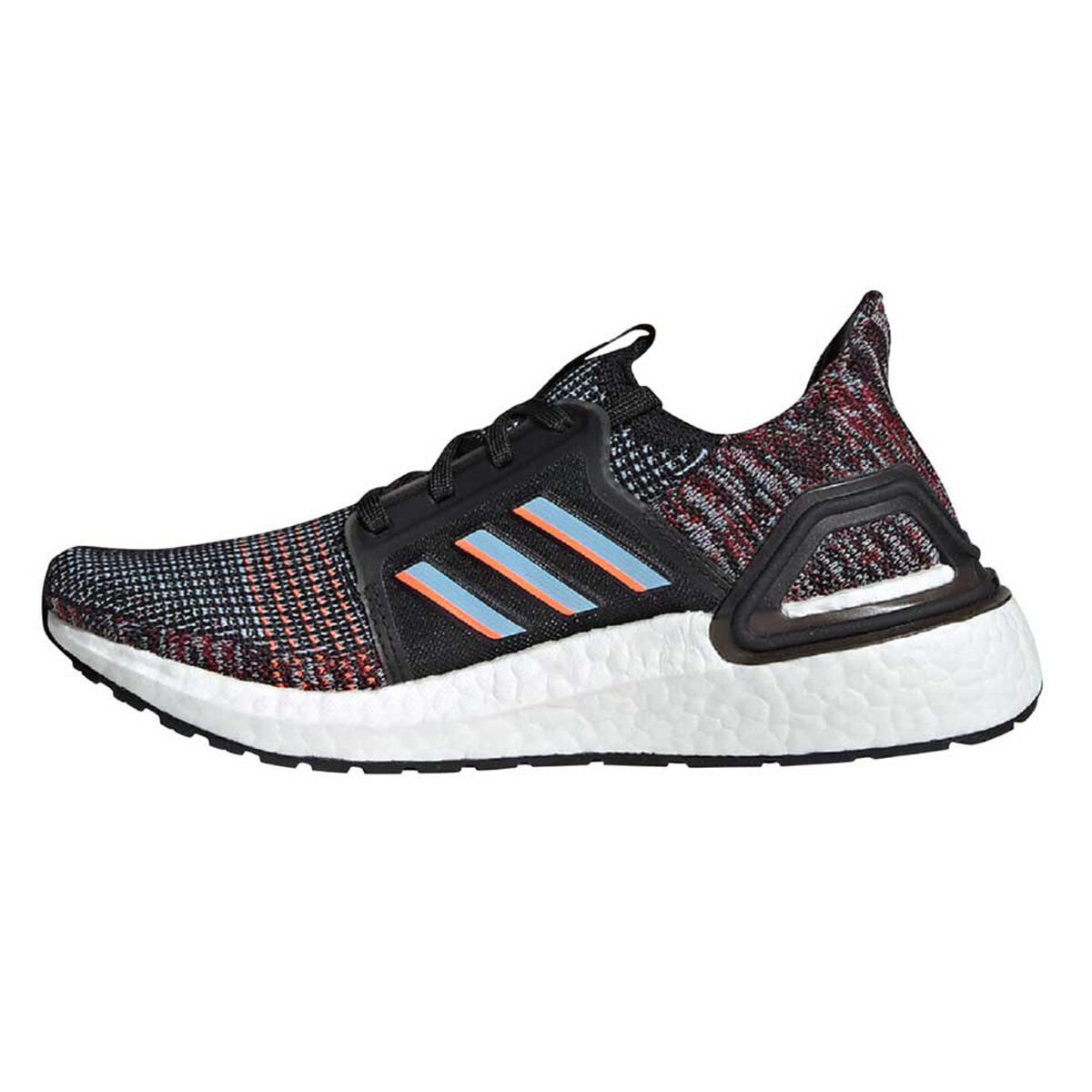 adidas Ultraboost 19 Kids Running Shoes Black Blue US 4