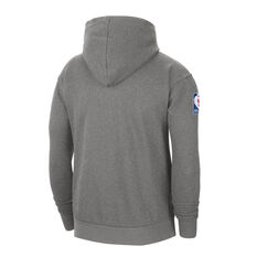 LA Lakers Courside Nike Mens Hoodie Grey S, Grey, rebel_hi-res