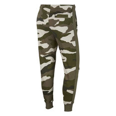 Nike Sportswear Mens Club French Terry Track Pants Green XS, Green, rebel_hi-res