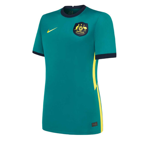 Australia 2020/21 Womens Away Jersey, Green, rebel_hi-res
