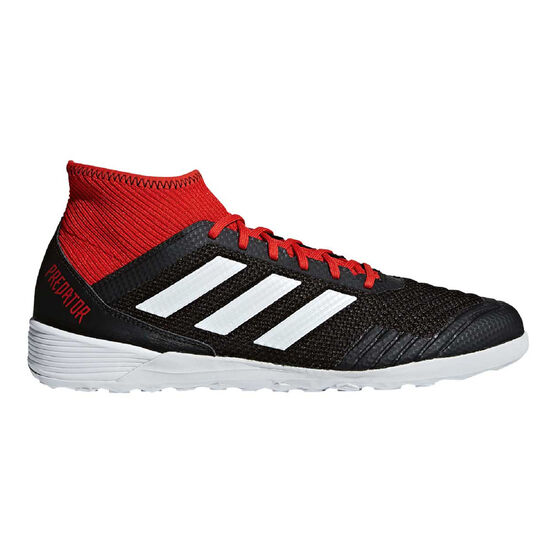 adidas Predator Tango 18.3 Mens Indoor Soccer Shoes, Black / White, rebel_hi-res