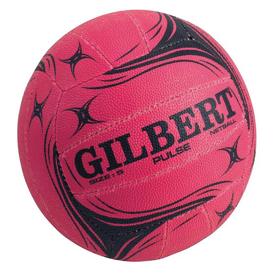Gilbert Pulse Netball Pink 4, Pink, rebel_hi-res