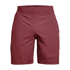 Under Armour Mens Vanish Woven Shorts Maroon S, Maroon, rebel_hi-res