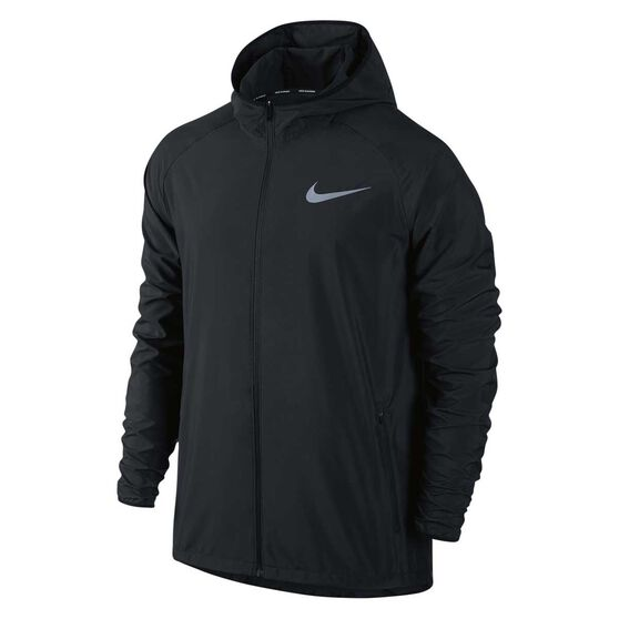 16a02a492 Nike Mens Essential Hooded Running Jacket