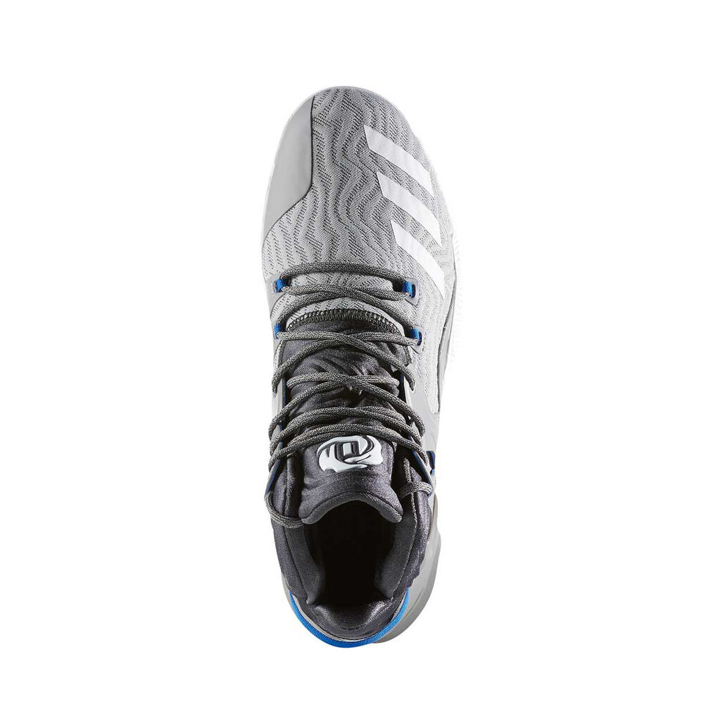 save off f122c 307d8 adidas D Rose 7 Mens Basketball Shoes Grey   White US 8, Grey   White