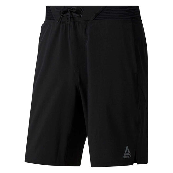Reebok Mens One Series Training Epic Shorts Black S, Black, rebel_hi-res