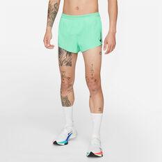 Nike Mens AeroSwift 2 in 1 Shorts Green M, Green, rebel_hi-res