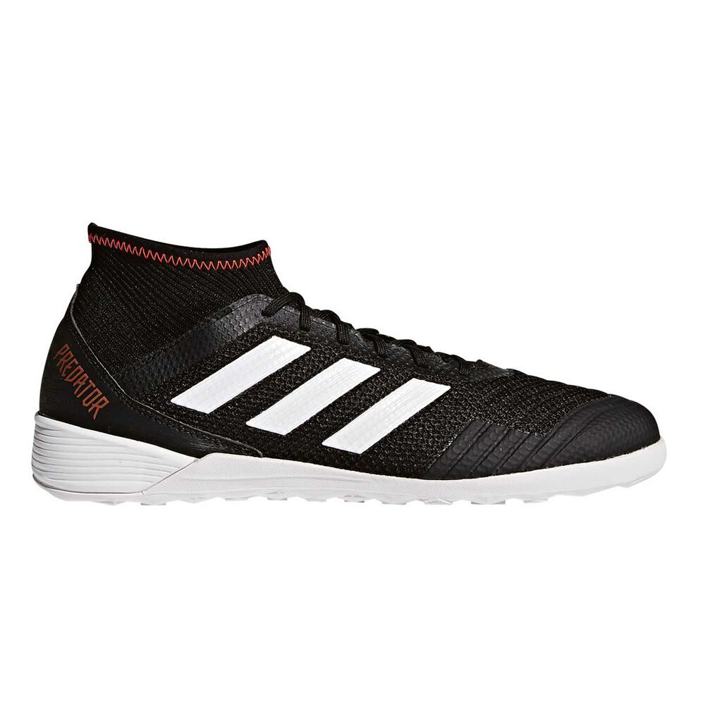 fefa293cdb3 adidas Predator Tango 18.3 Mens Indoor Soccer Shoes Black   White US 10  Adult