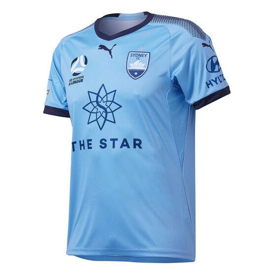 Sydney FC 2018 / 19 Mens Home Jersey XXL, , rebel_hi-res