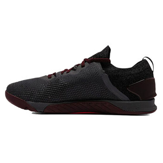 Under Armour Tribase Reign 3 Mens Training Shoes, Grey/Red, rebel_hi-res