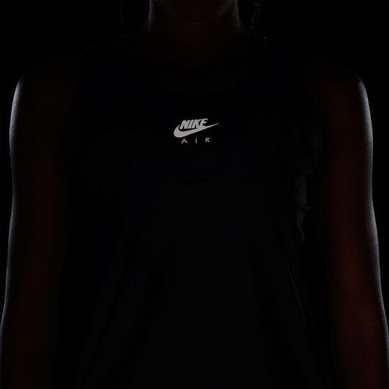 Nike Air Womens Running Tank, Black, rebel_hi-res