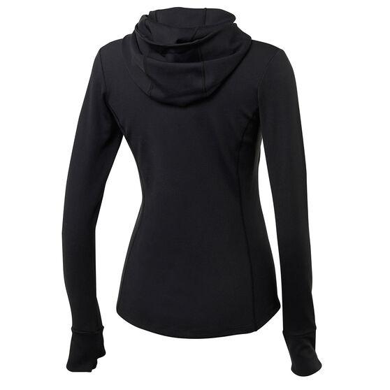 Running Bare Womens Bare The Elements Zip Jacket, Black, rebel_hi-res