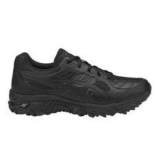 Asics Gel Trigger 12 Kids Training Shoes White / Navy US 1, White / Navy, rebel_hi-res