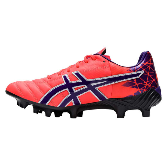 Asics Lethal Tigreor IT FF Womens Football Boots, Coral, rebel_hi-res
