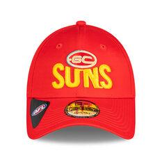 Gold Coast Suns 2021 New Era 9FORTY Media Cap, , rebel_hi-res