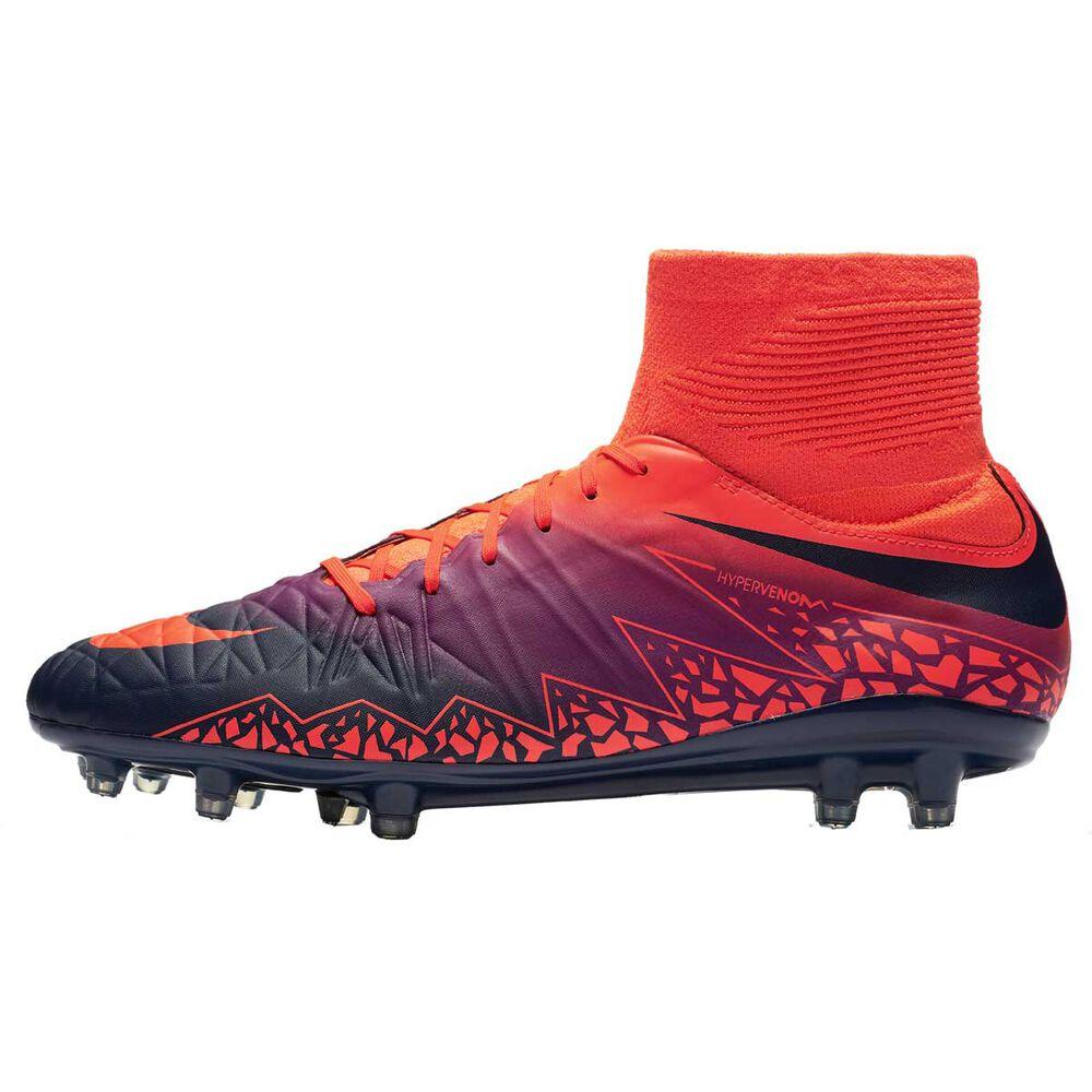 7e7fee1ab Nike Hypervenom Phatal II Dynamic Fit Mens Football Boots Red / grey US 8.5  Adult,