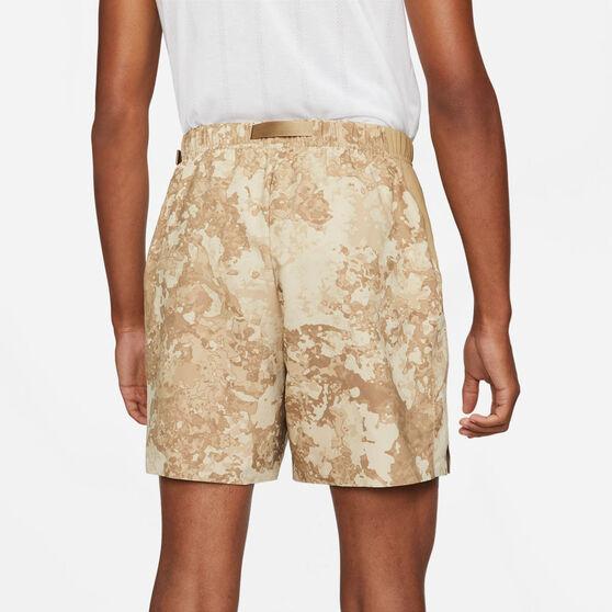 NikeCourt Mens Dri-FIT Tennis Shorts, Beige, rebel_hi-res