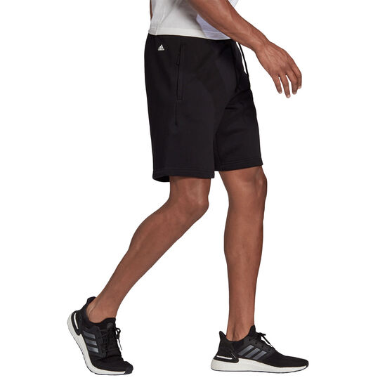 adidas Mens FI Shorts Black M, Black, rebel_hi-res