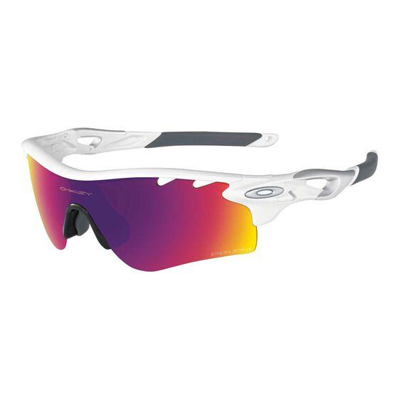 d50d0973438 Oakley Radarlock Path Prizm Road Sunglasses White